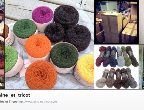 Retrouvez Laine et Tricot sur Instagram