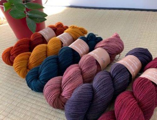 Nouveau : THE MINIMALIST d'Uschitita, 100% laine des Highlands !