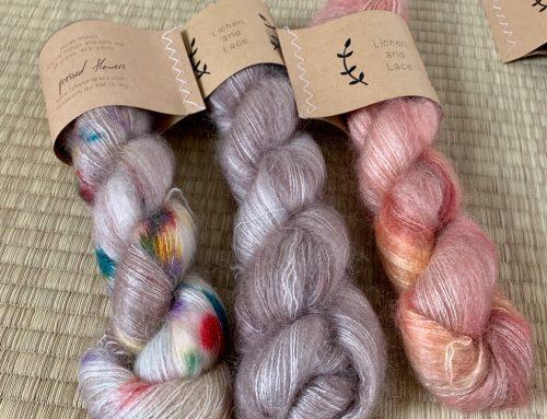 Nouveau : la MARSH MOHAIR de Lichen and Lace !